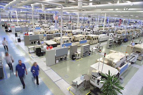 Salo Operations is part of the nine Nokia mobile factories´ global network